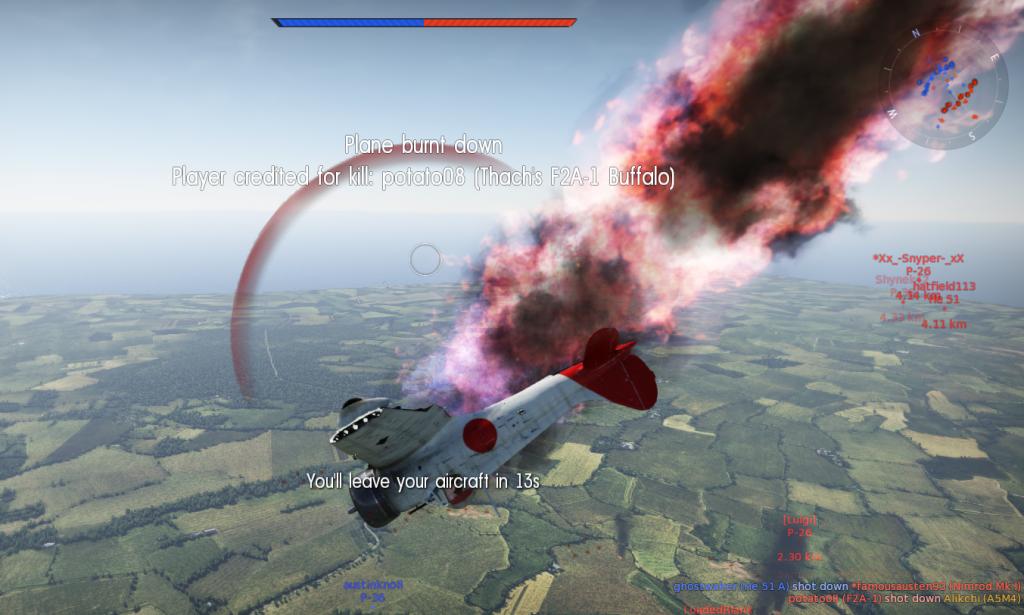Burning A5M